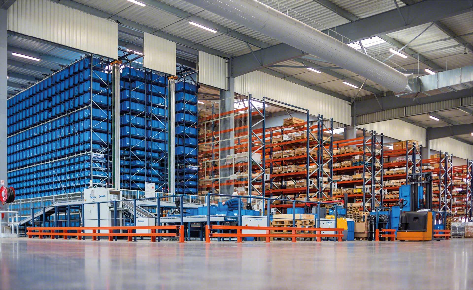 Las estanterías son el sistema de almacenamiento más eficaz para gestionar la mercancía