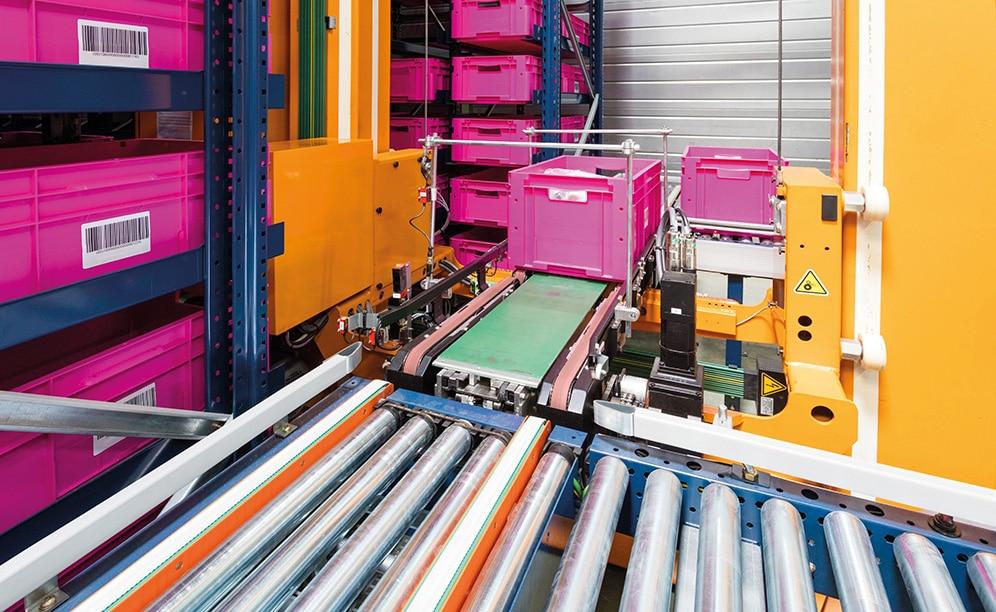 El fabricante de cocinas y baños SCD Luisina instala en Francia un sistema miniload para gestionar más de 1.000 pedidos diarios