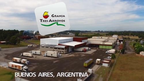 Caso de éxito de bodega autoportante automatizada:Granja Tres Arroyos