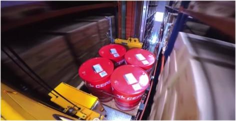 Mecalux ha construido una bodega automática autoportante con más de 4.500 m² para Cepsa