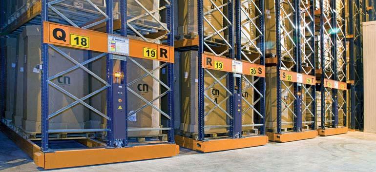 Almacenaje y distribución de productos congelados.