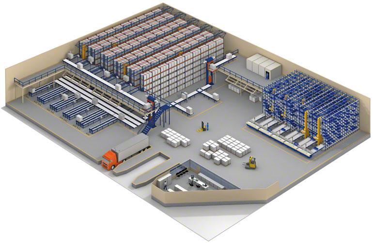 El WMS permite gestionar bodegas multipropietario