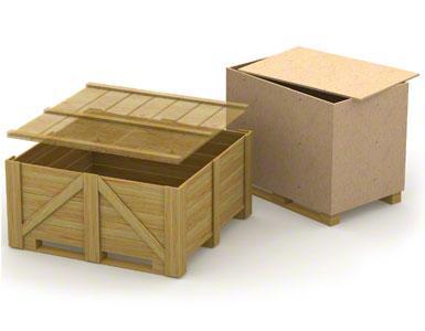 Las vigas inferiores de los contenedores de madera pueden ser débiles y poco resistentes ya que suelen emplearse para un solo envío sin retorno.