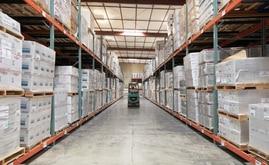La nueva capacidad de almacenaje de la bodega de Desert Depot es de más de 16.000 estibas, casi el doble de la capacidad original