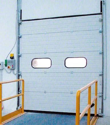 Puerta seccional.