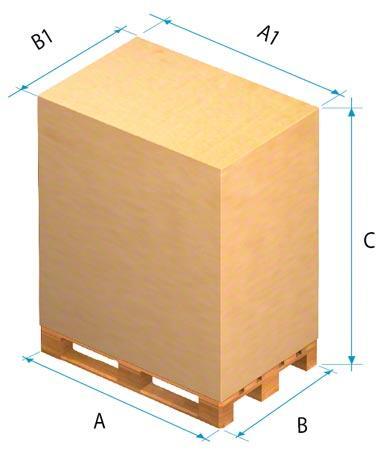 Para determinar las funciones del almacén deben tenerse en cuenta las dimensiones de la mercancía.