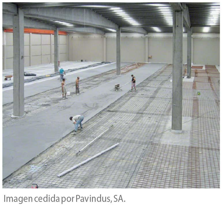 La nivelación del suelo es consubstancial con la instalación de la estantería.