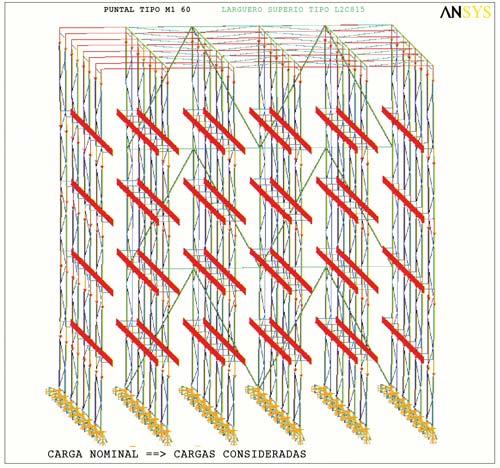 El pavimento de una bodega tiene que llegar a ser capaz de poder soportar de siete a ocho toneladas en tan sólo 80 o 100 cm2.