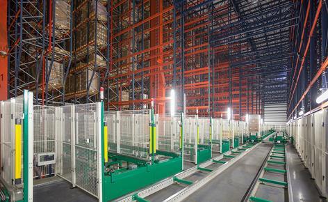 B. Braun ha adquirido una bodega automática autoportante con capacidad para 42.116 estibas construida por Mecalux