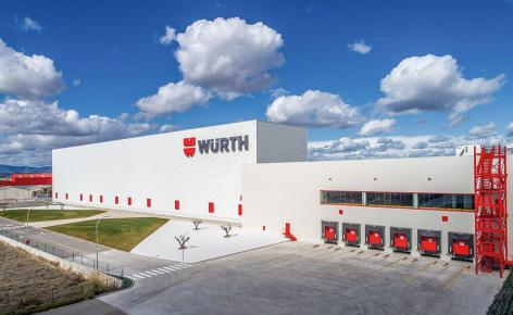 """Würth amplía su capacidad de almacenaje gracias al proyecto """"llave en mano"""