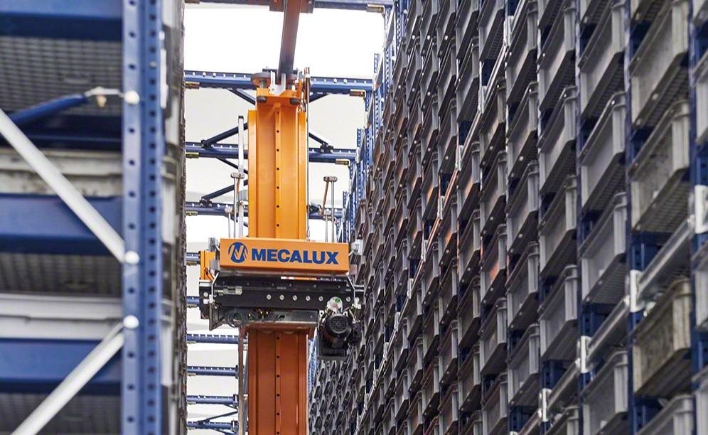 Paolo Astori amplía la capacidad de su bodega automática de cajas en Milán