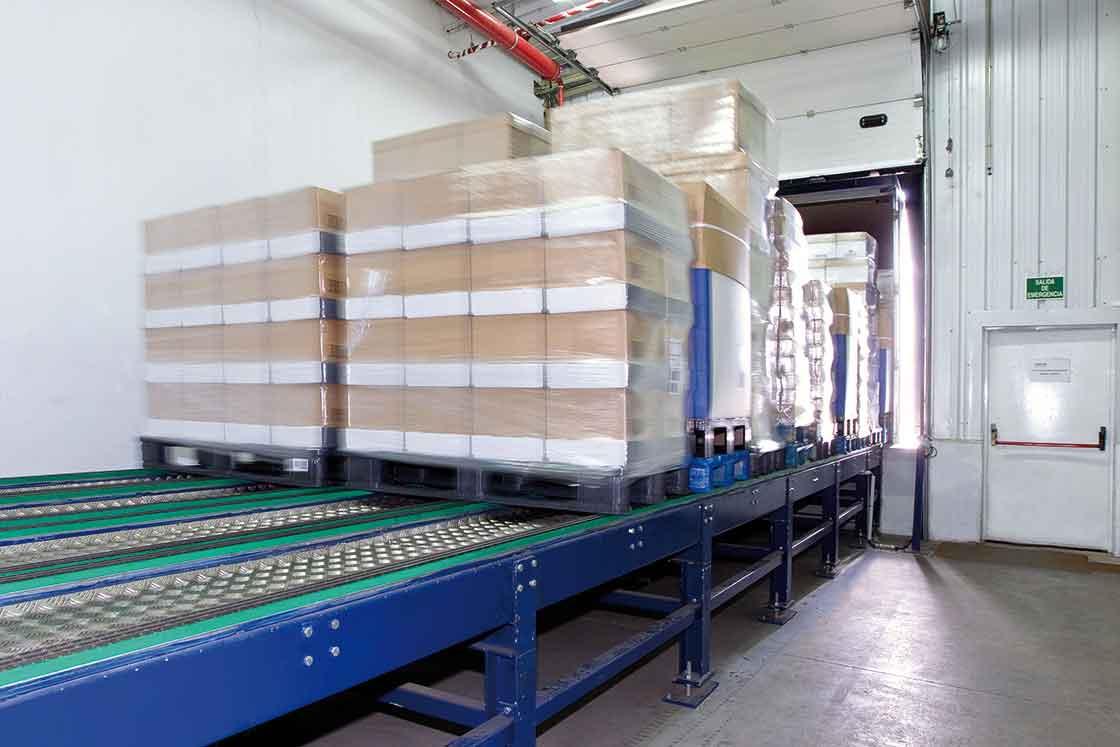Las plataformas de carga automática permiten acelerar todo el proceso de expedición de mercancías