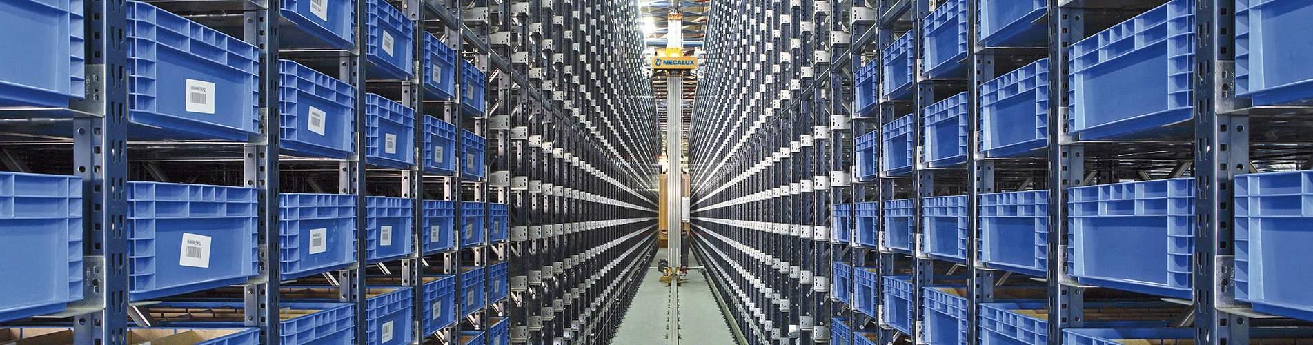 Transelevadores para cajas