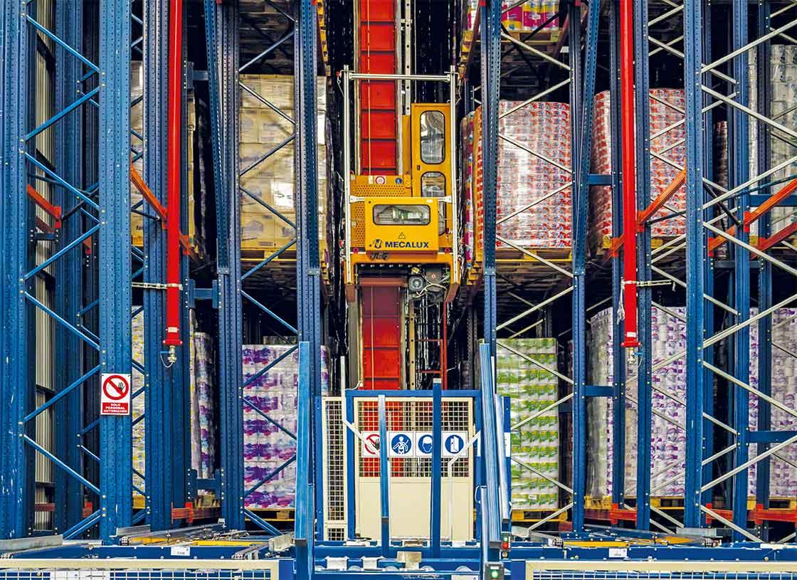 La gestión de los equipos de manutención es un área de trabajo importante en logística de almacenamiento