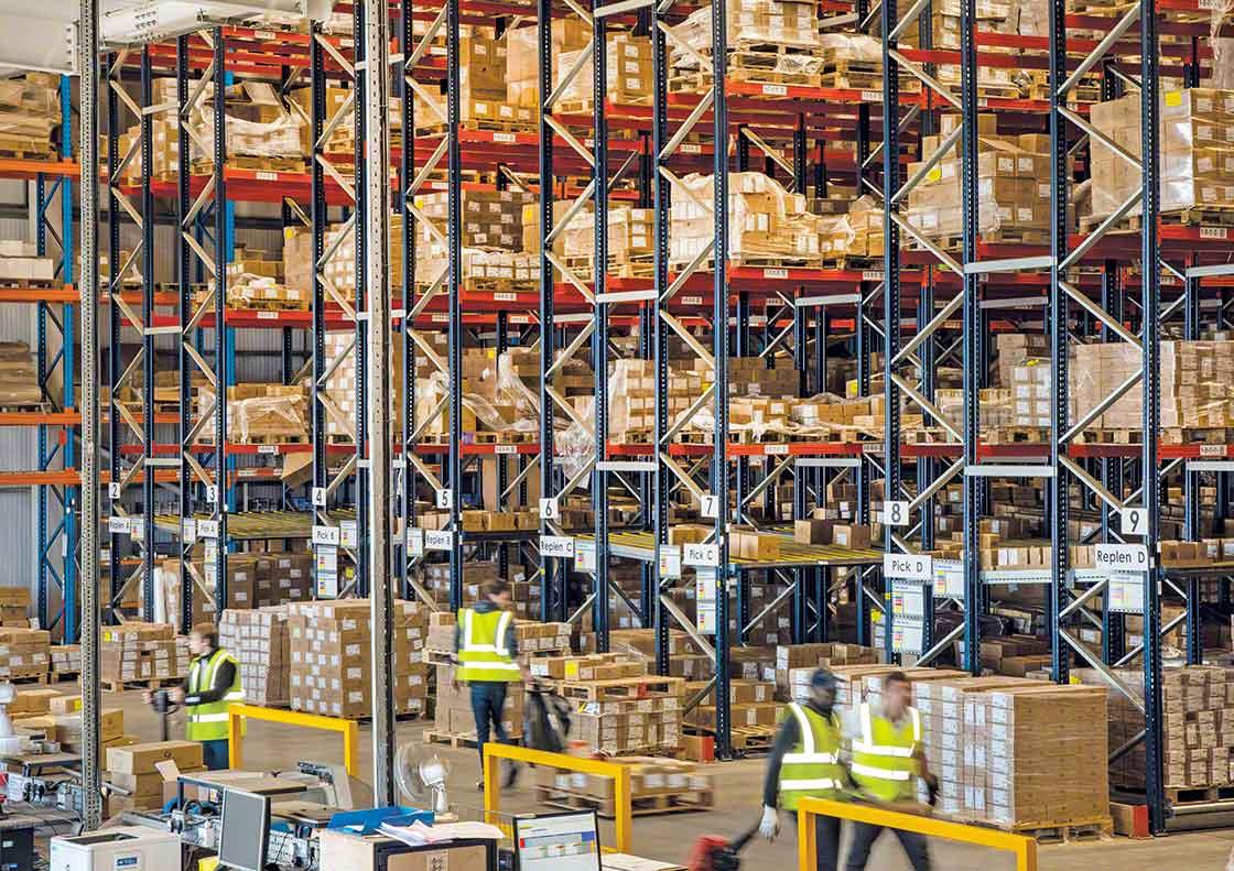 El stock de seguridad sobredimensionado puede ocupar un espacio muy valioso en el almacén