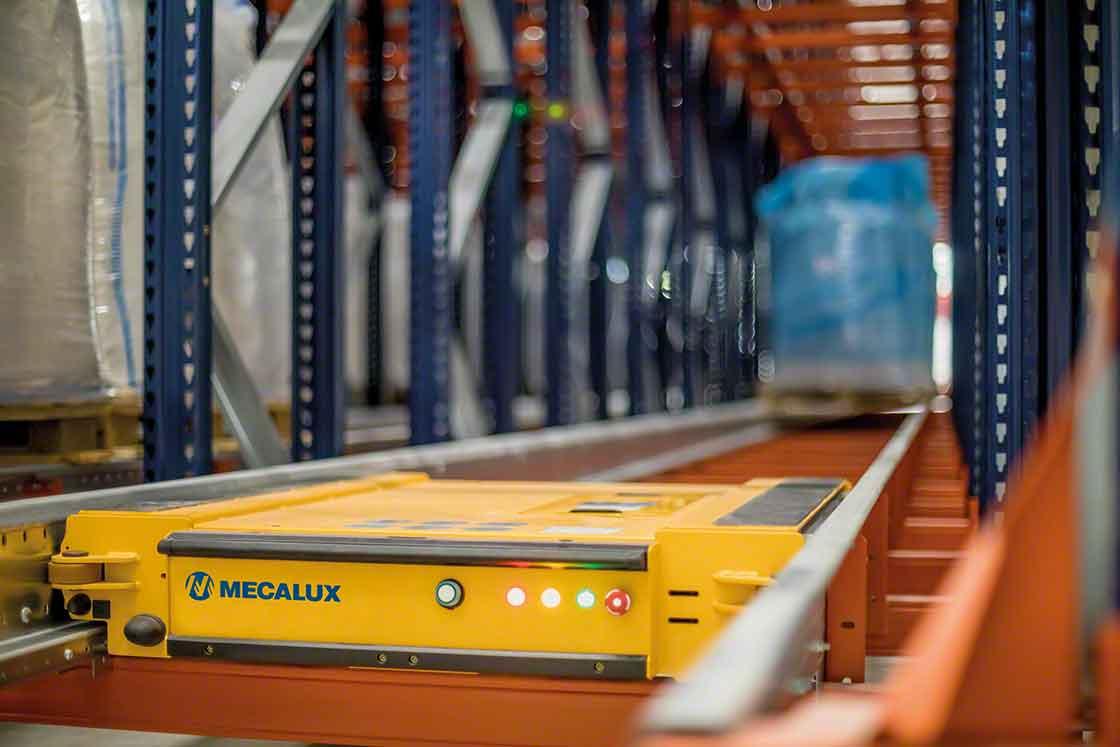 Los sistemas automáticos actualizan los datos en el SGA en cada movimiento, una información fundamental para los puntos de pedido