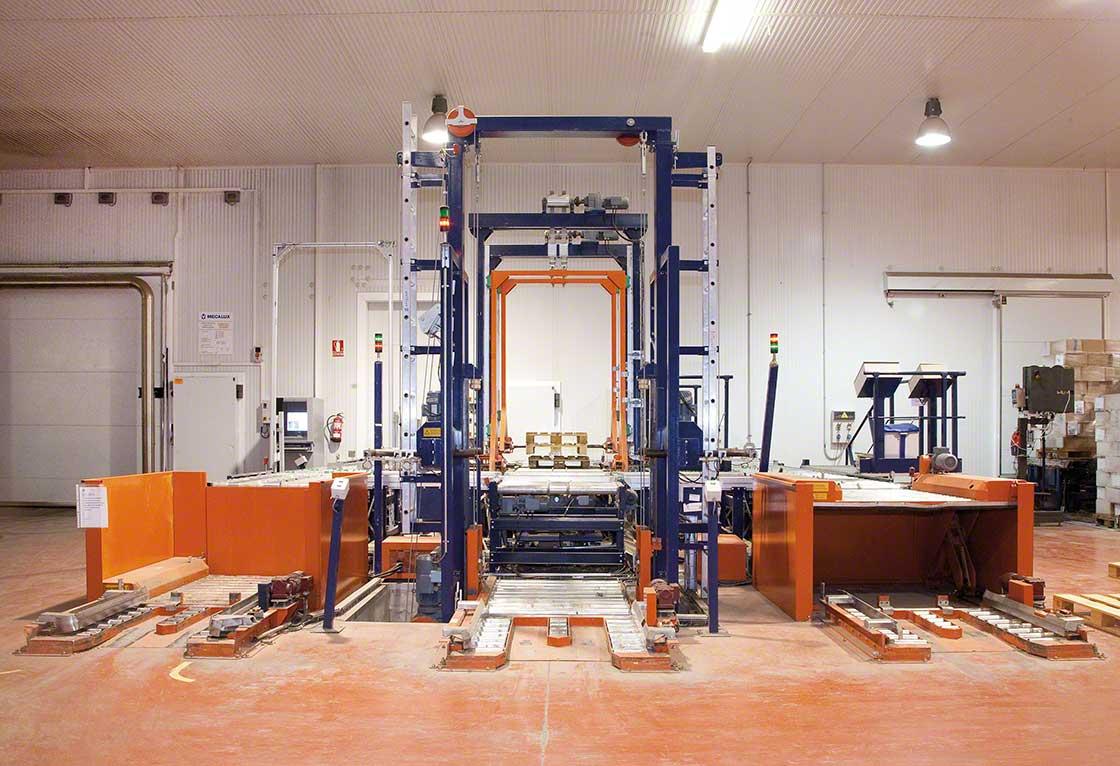 Los PIE realizan el control de entradas de estibas en la instalación de forma completamente automatizada